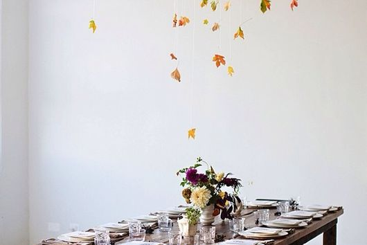 Put a Filter on It: Table Decorations