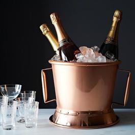 Vintage French Copper Wine Chiller c. 1900-1910