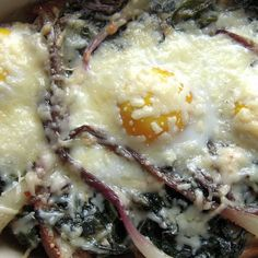 Creamy Ramps and Eggs