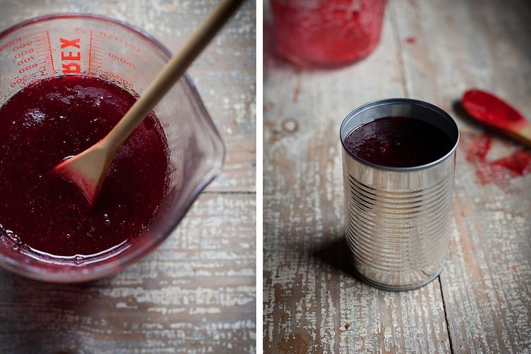 Homemade Cranberry Jelly, In a Can