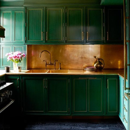 Copper Kitchen Countertops: Practical or Magic?