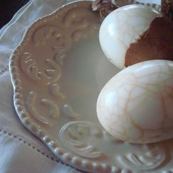 Marbled Tea Eggs with Smoked-Tea Dipping Salt