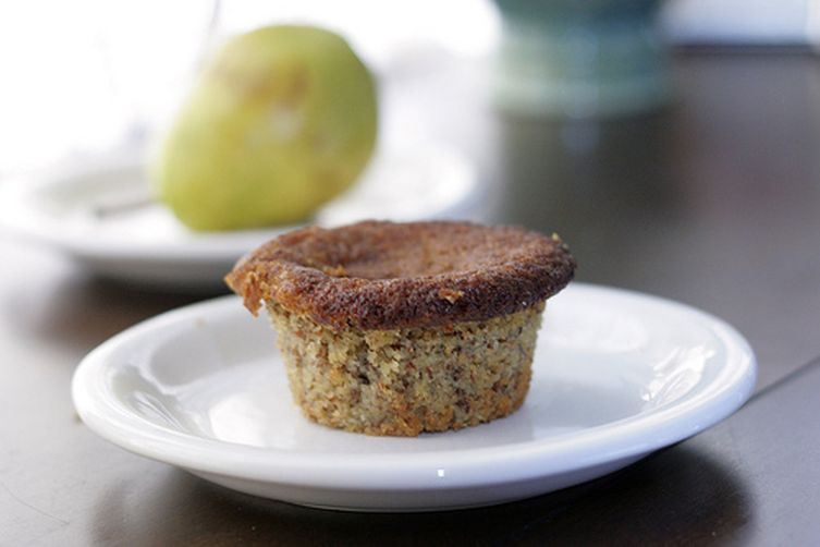 Pear Almond Muffins
