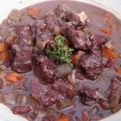 Barolo Stewed Beef – Brasato al Barolo