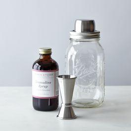Mason Shaker + Morris Kitchen Grenadine Rum Punch Kit