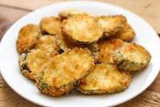 A Recipe of Fried Zucchini