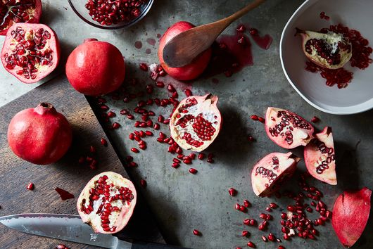 The Viral Pomegranate Cutting Hack We've Been Waiting For