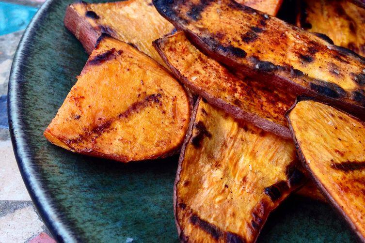 Paprika Sweet Potato Wedges