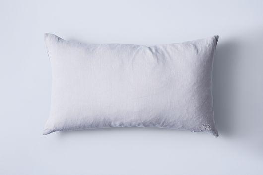 "Stonewashed Linen Pillow, 22"" x 12"""