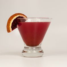 Blood Orange and Persian-Spiced Cosmopolitan