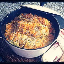 Wild Mushrooms Cabbage Wraps Stew