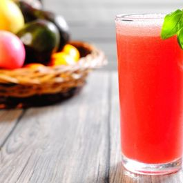 Watermelon-Basil Sparklers