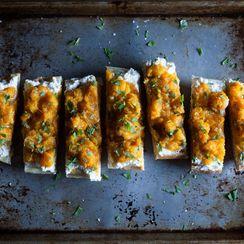 ABC Kitchen's Butternut Squash on Toast