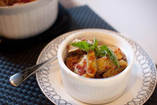 Baked Tortelloni with Quad Tomato Truffle Sauce