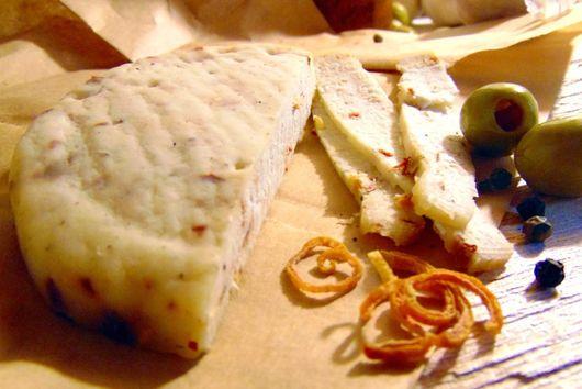 Pressed Milk Kefir Cheese