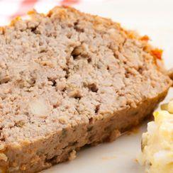 Honey-Mustard Glazed Meatloaf
