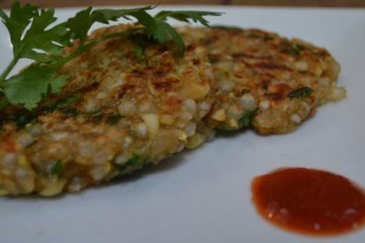 Corn & Sago croquettes