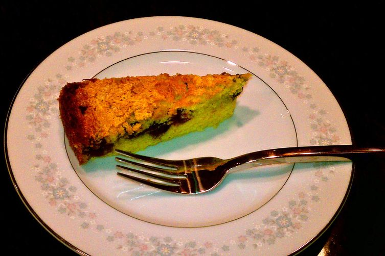 Lemon-Blueberry Corn Cake