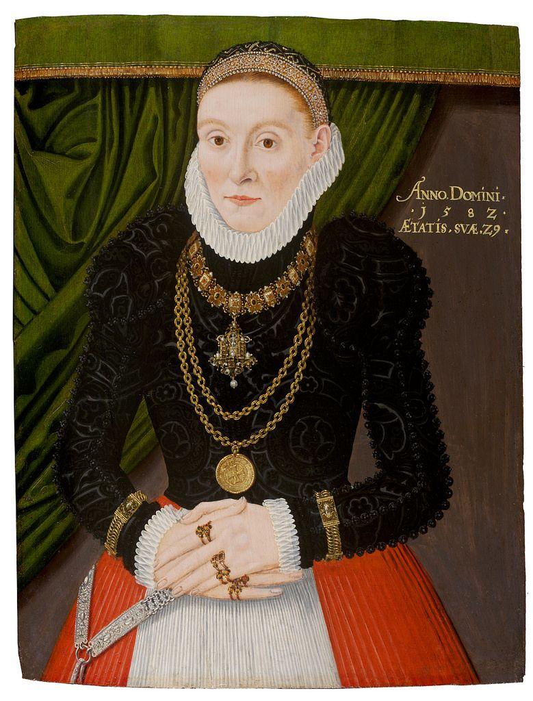 Renaissance Woman wearing apron
