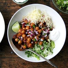 Chickpea Taco Bowls