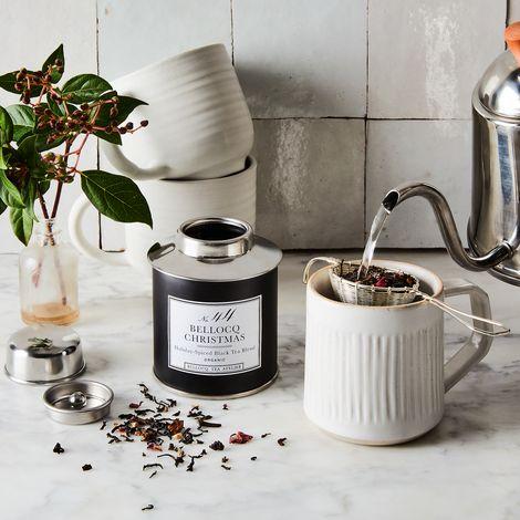 Holiday Tea & Strainer Gift Set