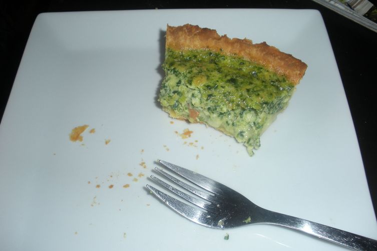Green Eggs and Ham Quiche