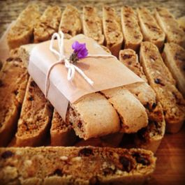 Blue Corn Biscotti