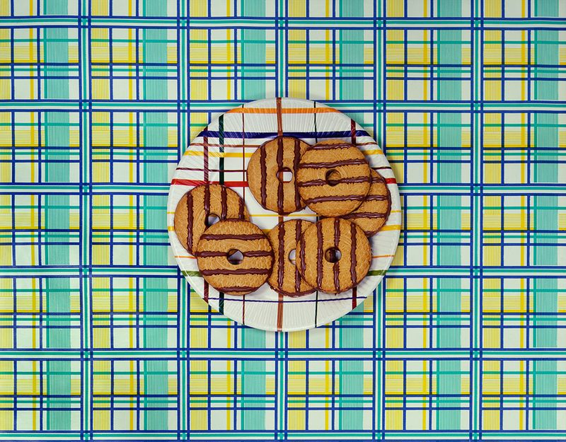"""Cookies on a Plate"" (1978). Courtesy the artist and Ryan Lee gallery, New York."