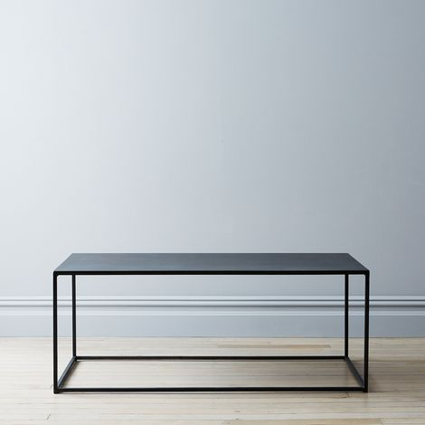 Blackened Steel Coffee Table