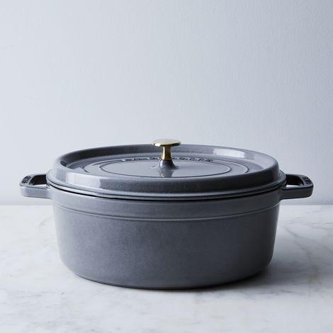 Staub Mini Round Cocotte Black 0 25qt Set Of 6 On Food52