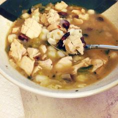 Chicken Hominy Stew