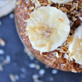 Toasted Coconut Banana Almond Butter
