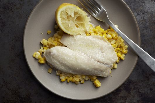 Simple Fish and Corn