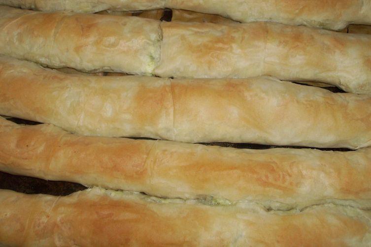 Bučnica ( Zucchini strudel )