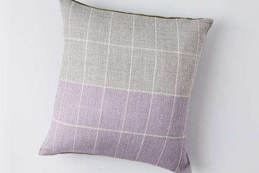 Super Soft Alpaca Grid Pillows