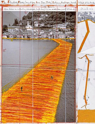 Christo new installation FastCoDesign
