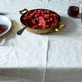 Cranberry, Tangerine, and Crystallized Ginger Relish