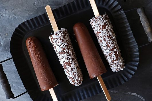 Vegan Fudge Pops