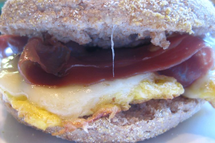 Egg McAsh with Hollandaise Sauce