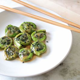 Brown Sugar Miso Fiddleheads