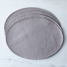 Oval Placemats (Set of 4)