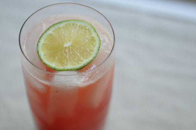Retro Raspberry Lime Rickeys