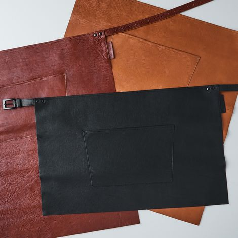 Dutch Leather Half Apron