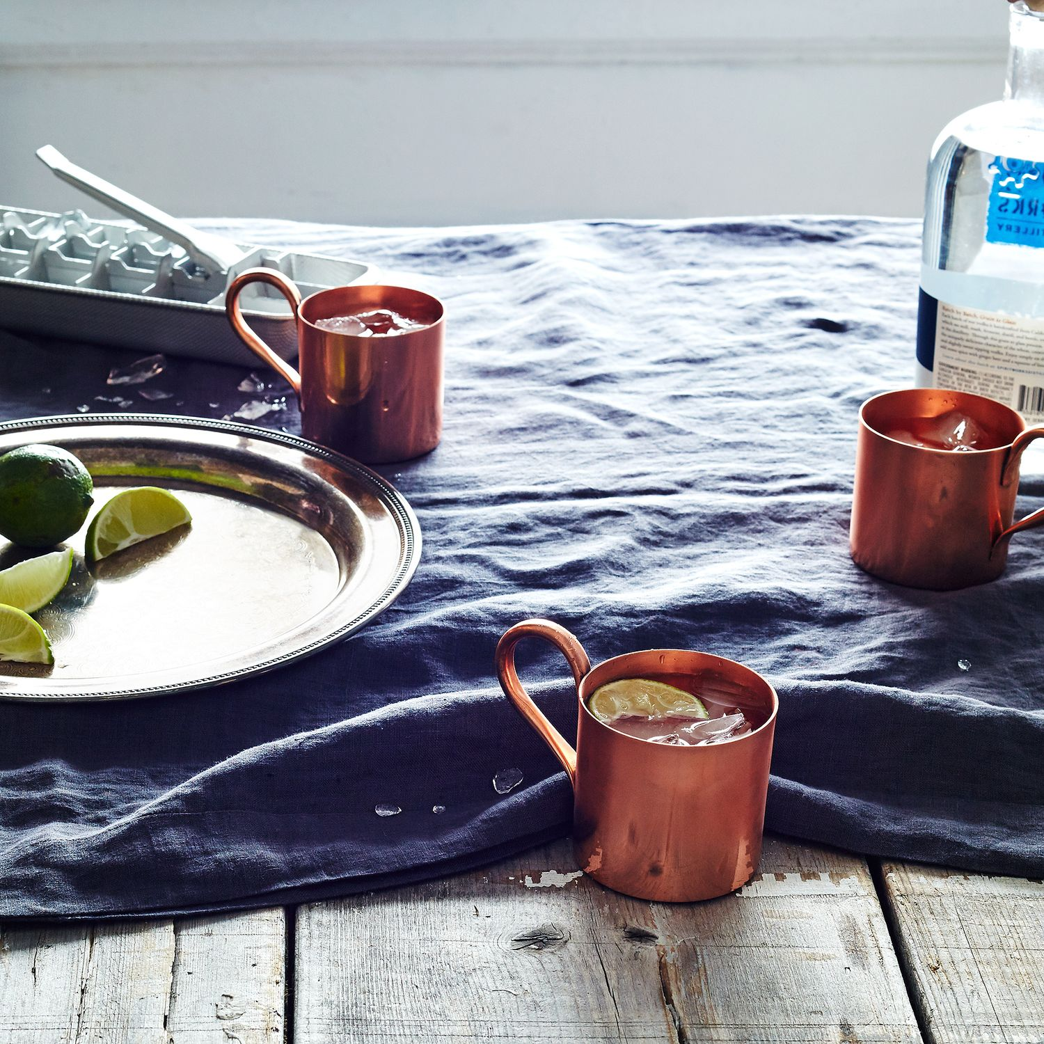Copper Moscow Mule Mugs (Set Of 4) On Food52
