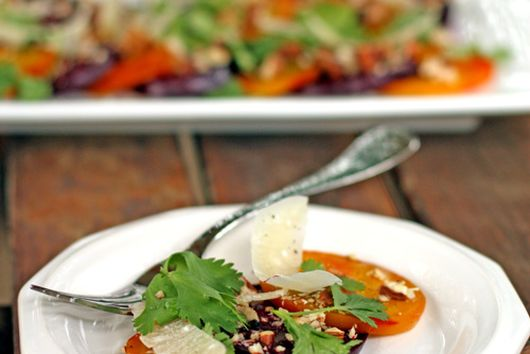Summer Roasted Beet Salad