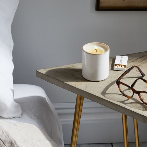 Handmade Porcelain & Stoneware Scented Candle