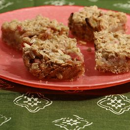 Brown Butter Rhubarb Bars