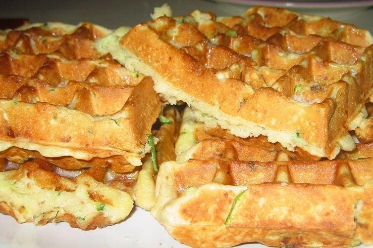 Buttermilk Zucchini Bread Belgian Waffles Recipe on Food52