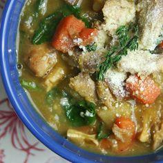Hearty Chicken & Lentil Stew
