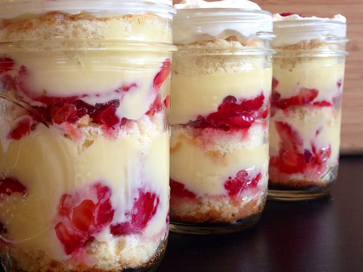 Phenomenal Cleveland Cassata Cake In A Jar Recipe On Food52 Funny Birthday Cards Online Barepcheapnameinfo